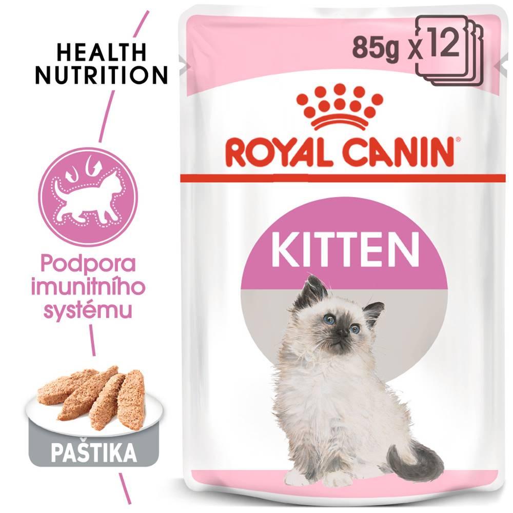 Royal Canin Royal Canin Kitten Instinctive Loaf - kapsička s paštikou pro koťata - 85g