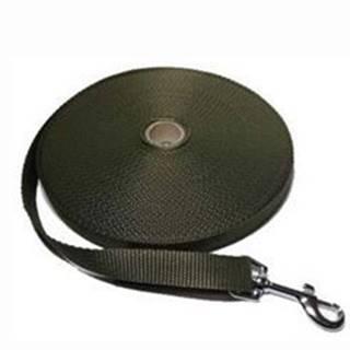 Vodítko DINOFASHION stopovací ploché khaki 5m/2cm