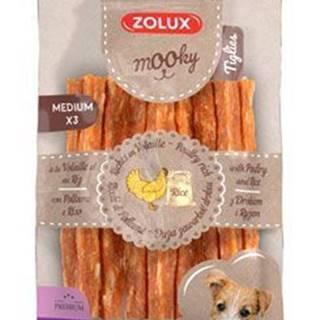 Pochúťka Mook Premium hydinu / ryža M 3ks Zolux