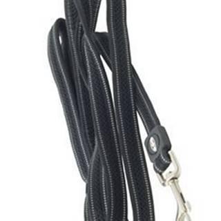 Vodítko BUSTER AIRmesh reflexné S / M 180cm / 20mm čierne