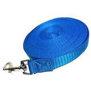 Vodítko DINOFASHION stopovací ploché modré 20m/2cm