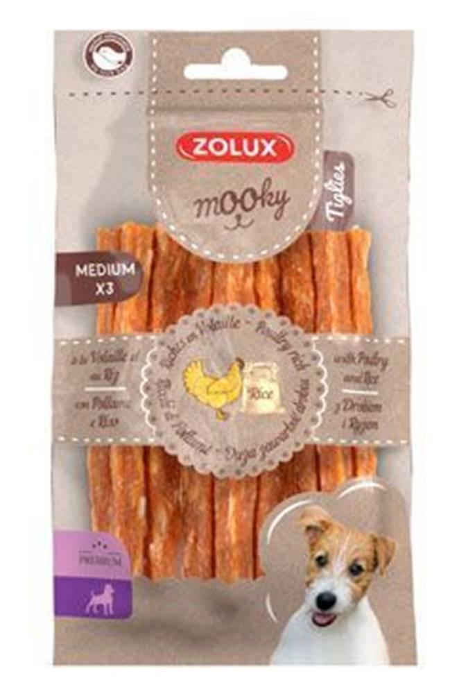 Zolux Pochúťka Mook Premium hydinu / ryža M 3ks Zolux