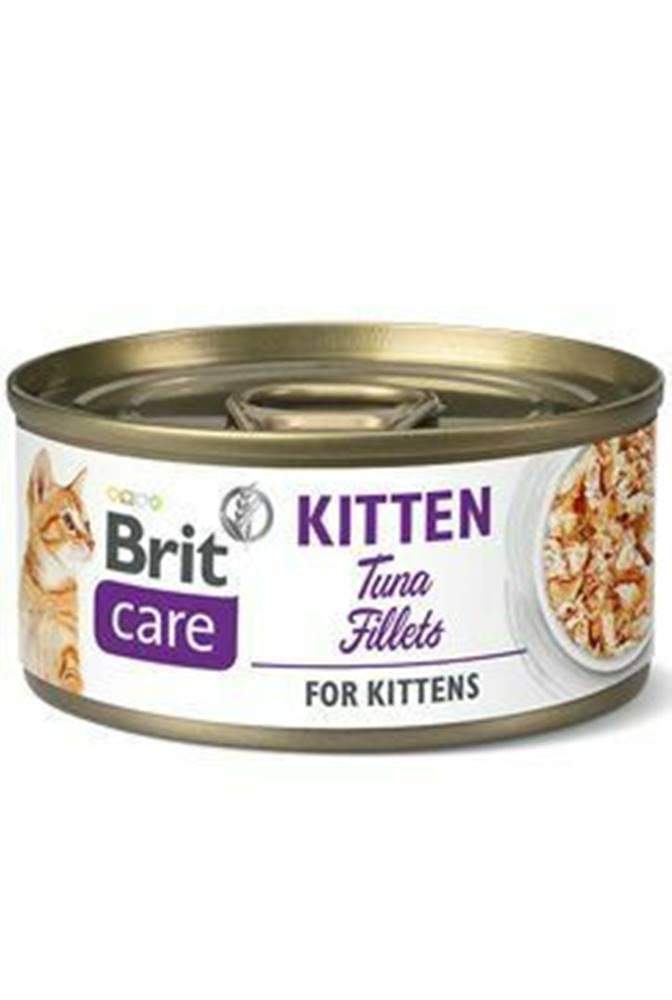 Brit Care Brit Care Cat konz Fillets Kitten Tuna 70g