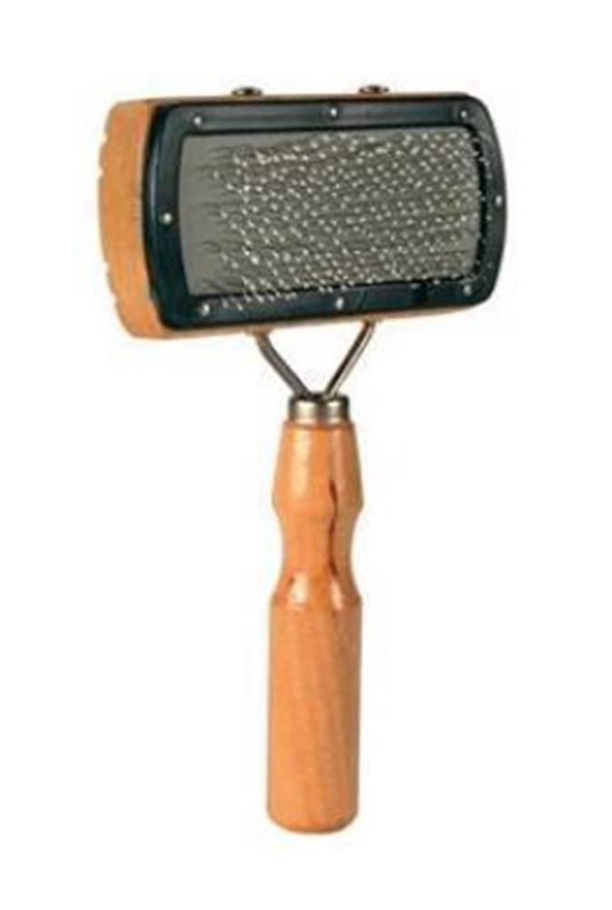 Trixie Kartáč dřevěný s drátky jemný pes 18/10cm TR