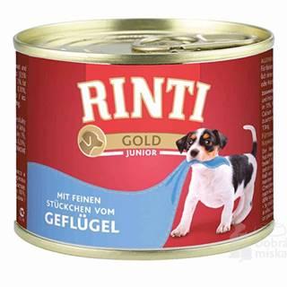 Rinti Gold Junior konzerva hydina 185g