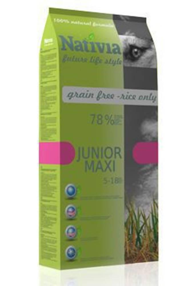 Nativia Nativia Dog Junior Maxi 15kg