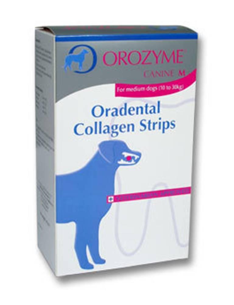 Virbac Orozyme enzym.plátky žvýkací pro psy M 141g