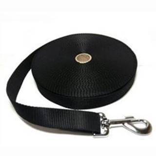Vodítko DINOFASHION popruh stopovací černé 10m/2,5cm