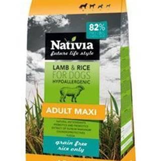 Nativia Dog Adult Maxi Lamb&Rice 15kg