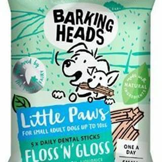 BARKING HEADS Litt.Paws Treats Floss'n' Gloss 100g