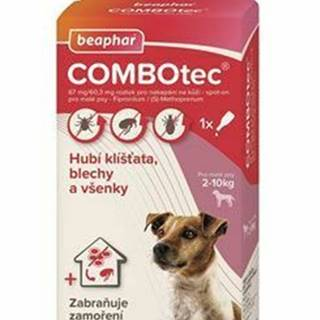 Combotec 67 / 60,3 Spot-on pre malé psy 1x0,67ml