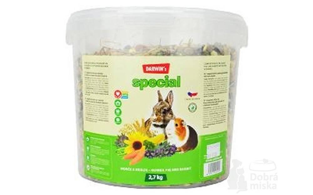 Nutri Can Darwin 's morča, králik special vedro 2,7kg