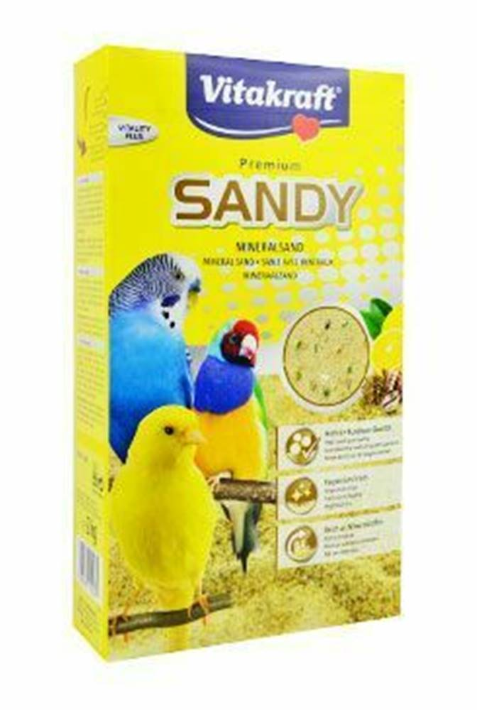 Vitakraft Vitakraft Bird Sand Bio papoušci písek 2kg