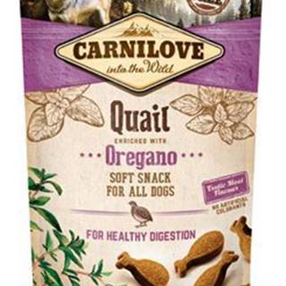 Carnilove Dog Semi Moist Snack Quail&Oregano 200g
