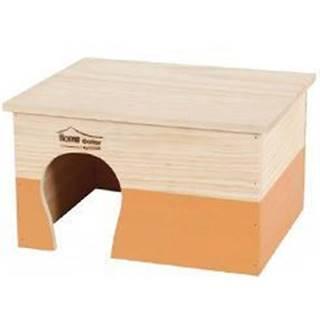 Domček pre hlodavce HOME COLOR XL oranžový Zolux