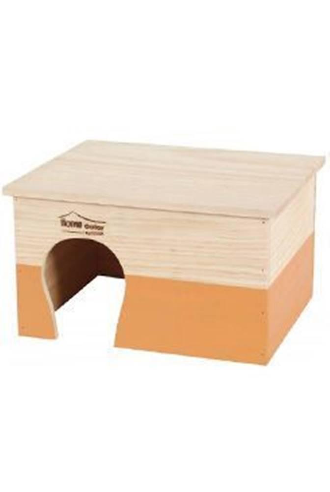 Zolux Domček pre hlodavce HOME COLOR XL oranžový Zolux