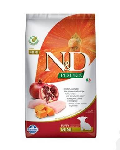 N&D Pumpkin DOG Puppy Mini Chicken & Pomegranate 2,5kg