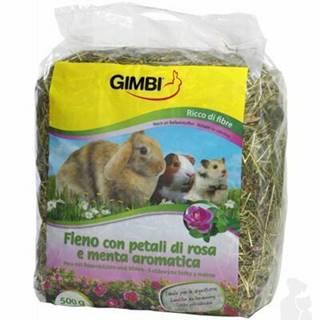 Gimborn Seno kŕmne s ruží 500g