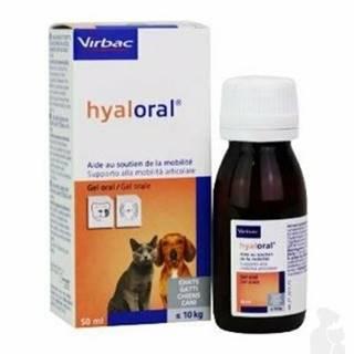 Hyaloral gél pre mačky a malých psov 50ml