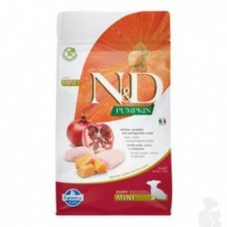 N&D Pumpkin DOG Puppy Mini Chicken & Pomegranate 800g