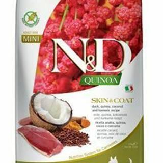 N&D Quinoa DOG Skin & Coat Duck & Coconut Mini 2,5kg