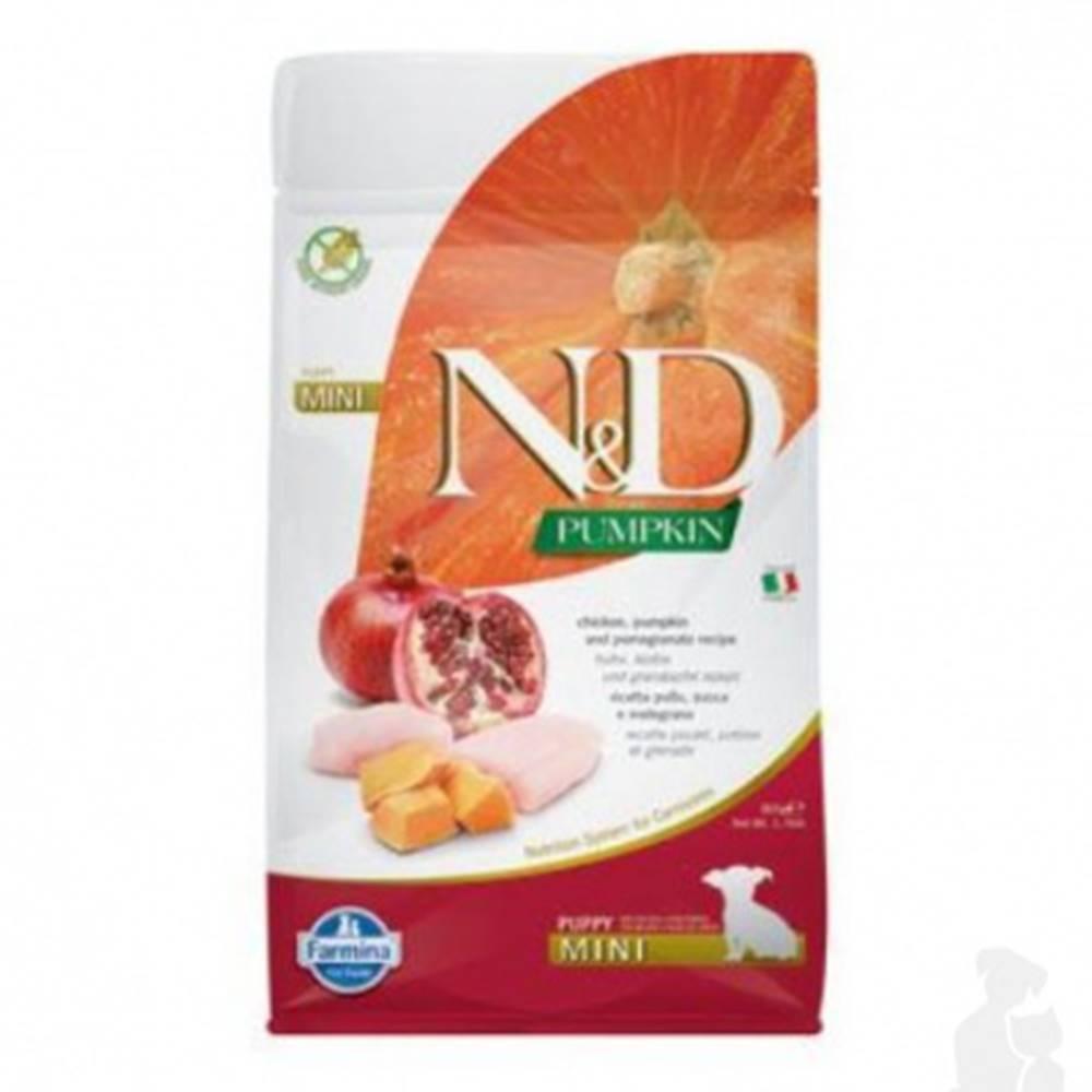 N&D (Farmina Pet Foods) N&D Pumpkin DOG Puppy Mini Chicken & Pomegranate 800g