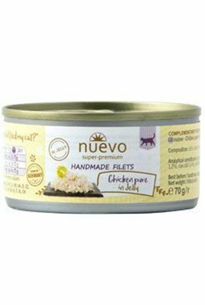 Nuevo Nuevo mačka Handmade Pure kura v želé konz. 70g