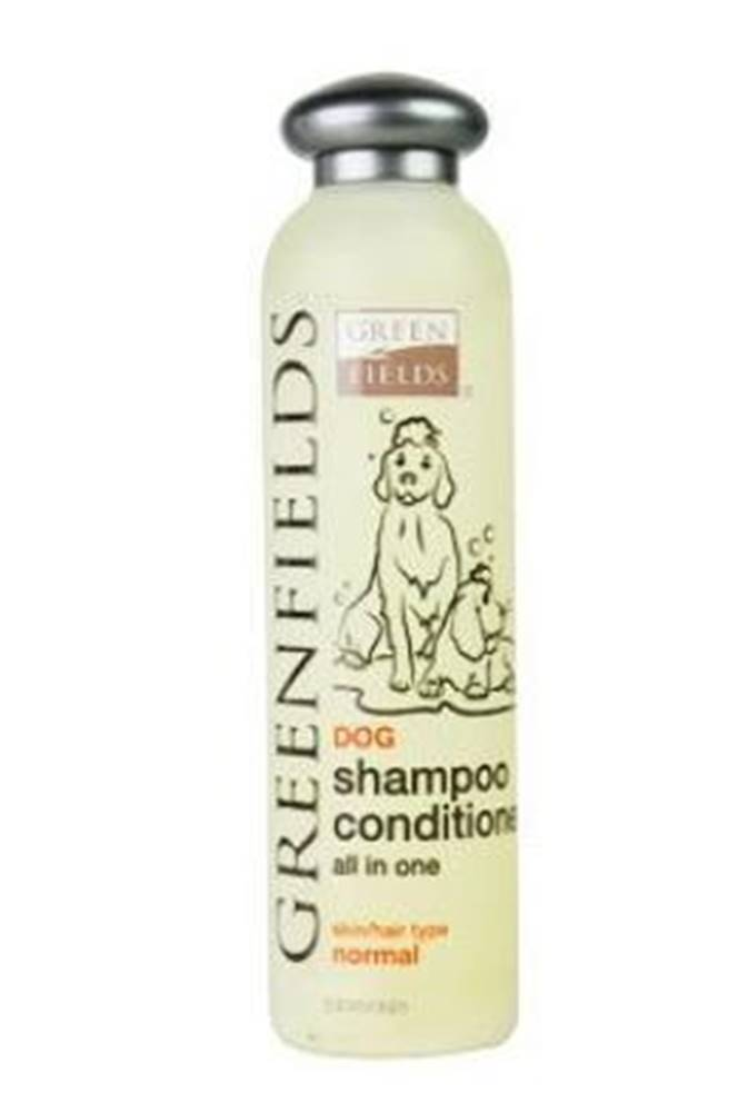 Greenfields Greenfields šampon s kondicionérem pes 250ml