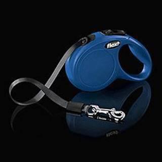Vodítko FLEXI Classic NEW XS pásek 3m/12kg modrá