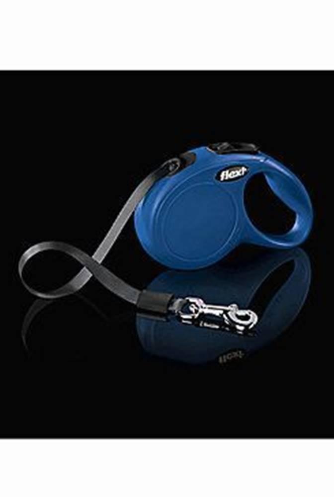 Tommi Vodítko FLEXI Classic NEW XS pásek 3m/12kg modrá