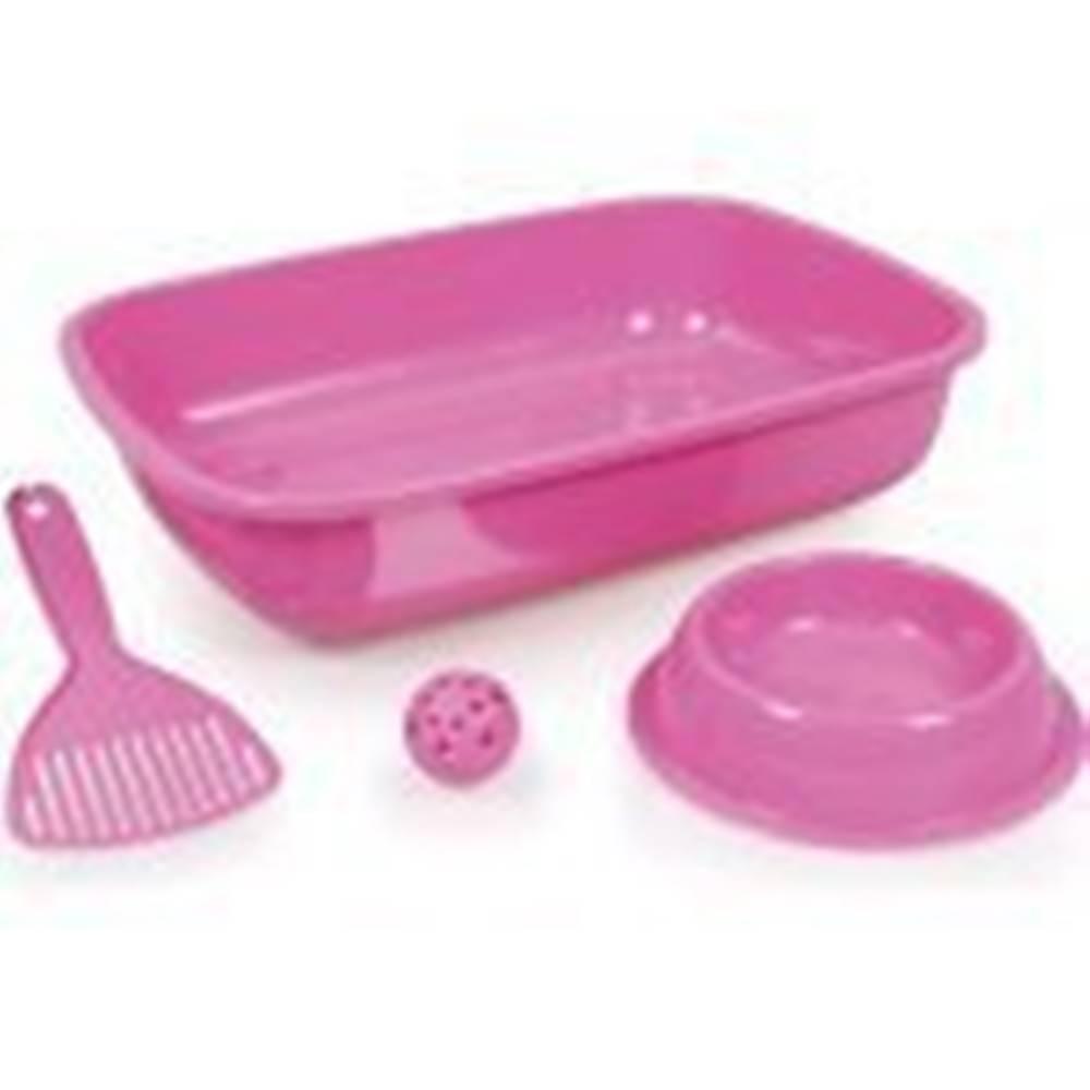 Tommi WC Welcome kitten set růžový