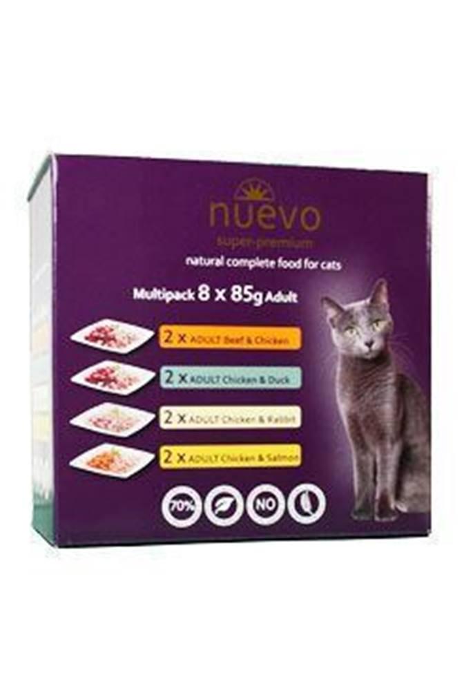 Nuevo Nuevo kočka kapsa Adult Multipack 8x85g