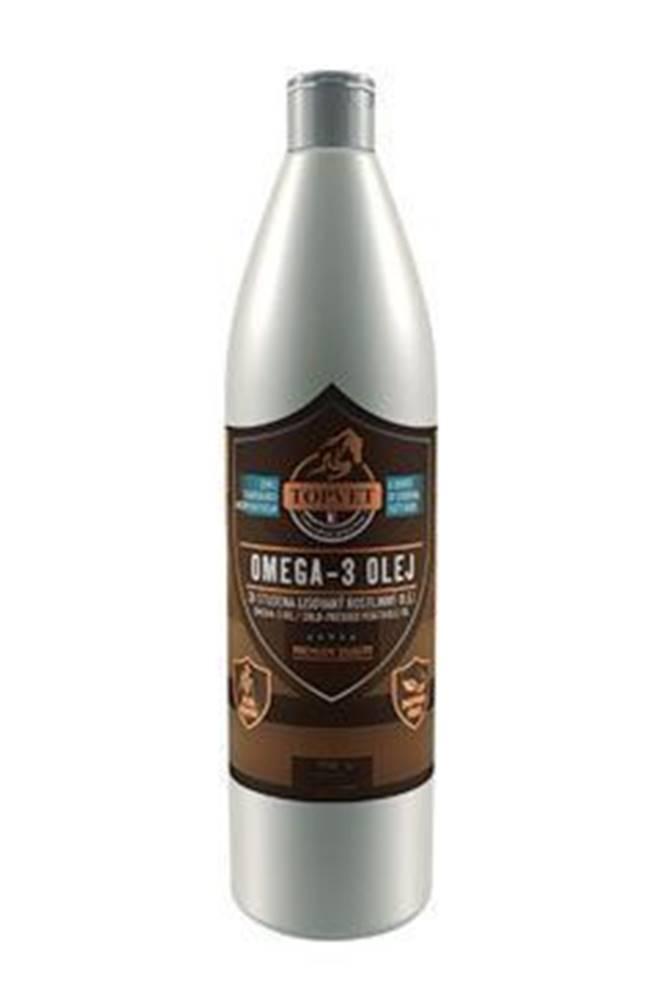 TOPVET Omega-3 olej pro koně 1l