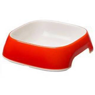 Miska plast GLAM MEDIUM 0,75l červená FP