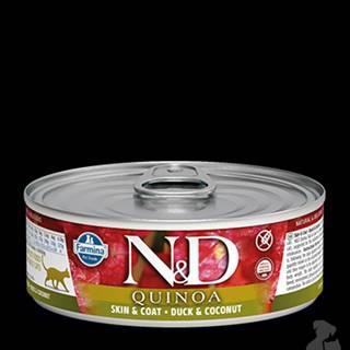 N&D GF CAT QUINOA Duck & Coconut 80g