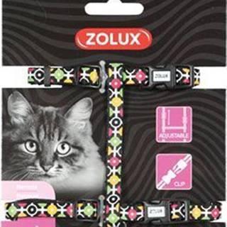 Postroj mačka ARROW nylon čierny Zolux