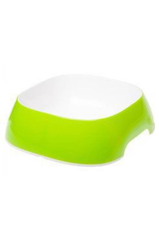 Ferplast Miska plast GLAM LARGE 1,2l žlutozelená FP