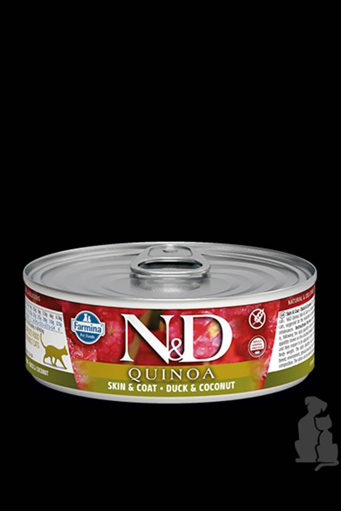 N&D (Farmina Pet Foods) N&D GF CAT QUINOA Duck & Coconut 80g