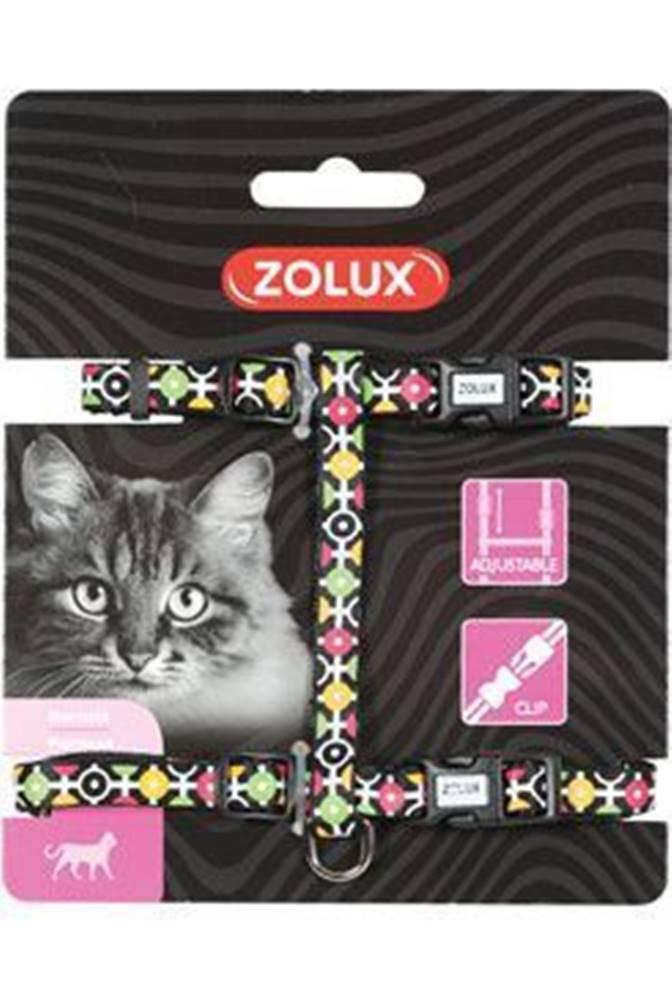 Zolux Postroj mačka ARROW nylon čierny Zolux