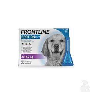 FRONTLINE SPOT ON pre psov L (20-40kg) - 3x2,68ml