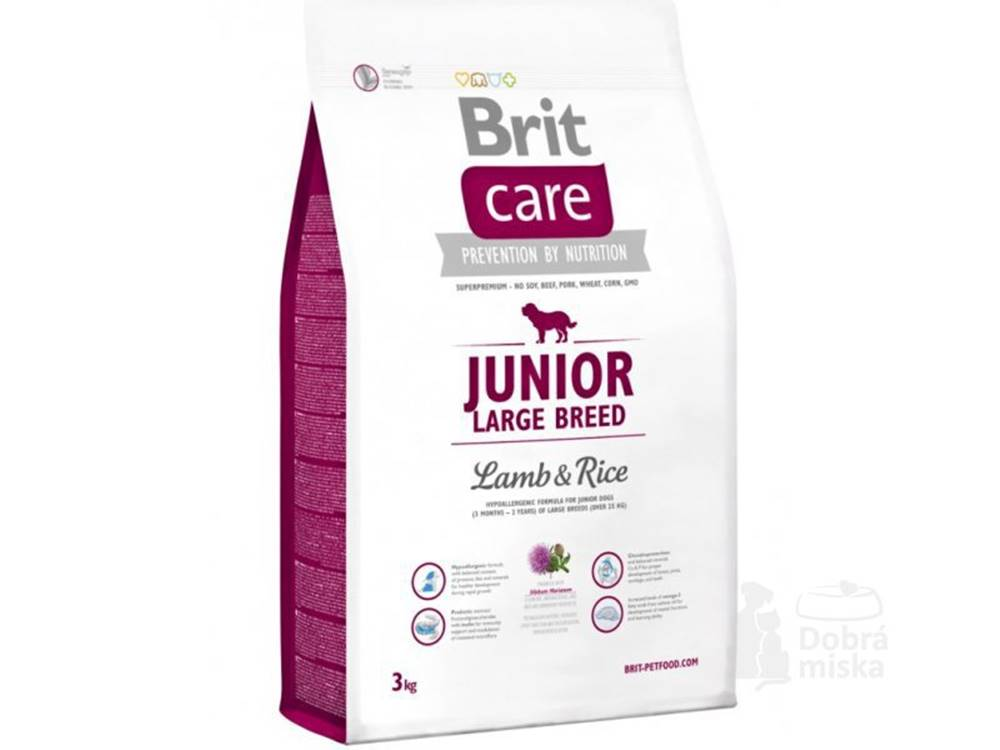 Brit Brit Care Dog Junior Large Breed Lamb & Rice 3kg