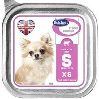 Butcher 's Dog Pro Series s hovädzím Sensitive pate 100g