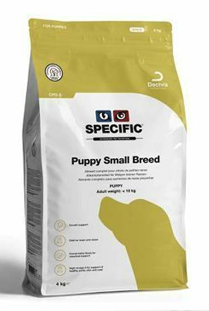 Specific Specific CPD-S Puppy Small Breed 4kg pes