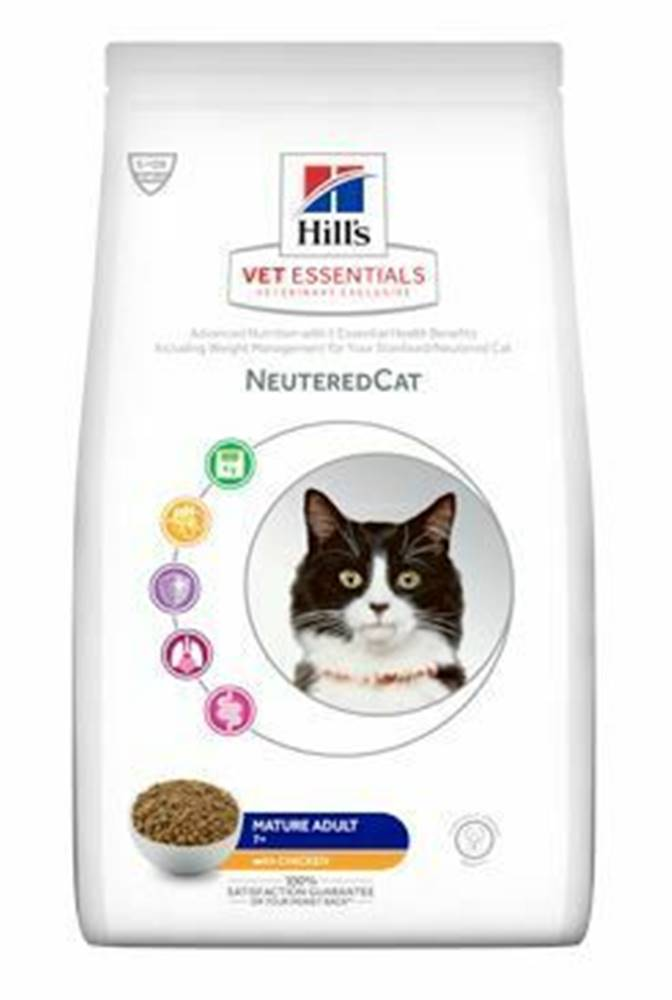 Hill's Hill's Fel.Dry VE Mature Adult Neutered Chicken 1,5kg