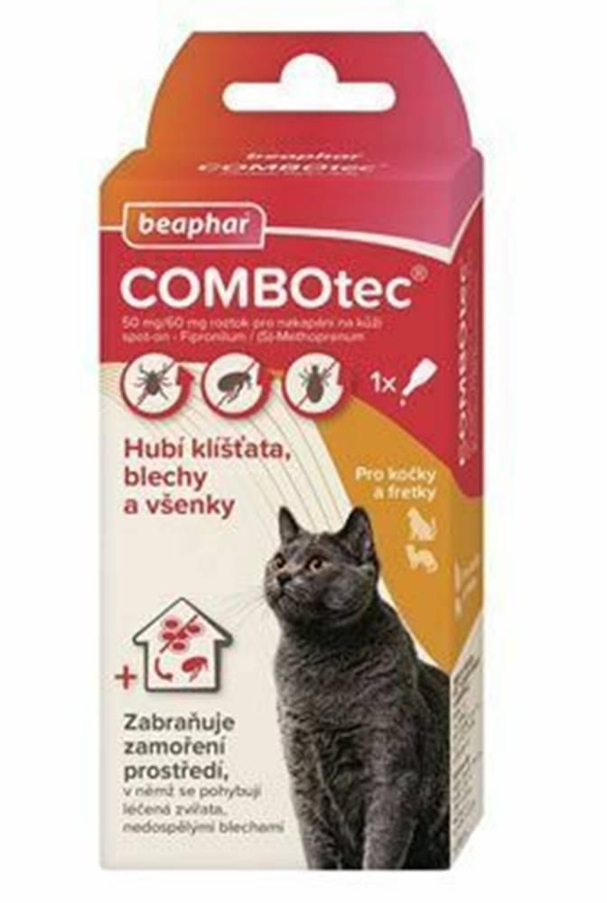 Beaphar Combotec 50 / 60mg Spot-on pre mačky a fretky 1x0,5ml