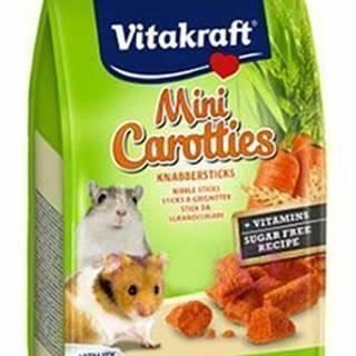 Vitakraft all Rodent poch. Carotties mini Hamster 50g
