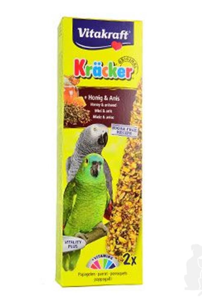 Vitakraft Vitakraft Bird Kräcker parrot African honey tyč 2ks