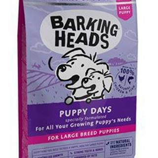 BARKING HEADS Puppy Days NEW (Large Breed)12kg