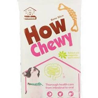 Pochoutka dentální How Chewy Bone Slice 70g