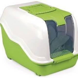 WC kočka NETTA kryté s filtrem zelená 53x39x40cm